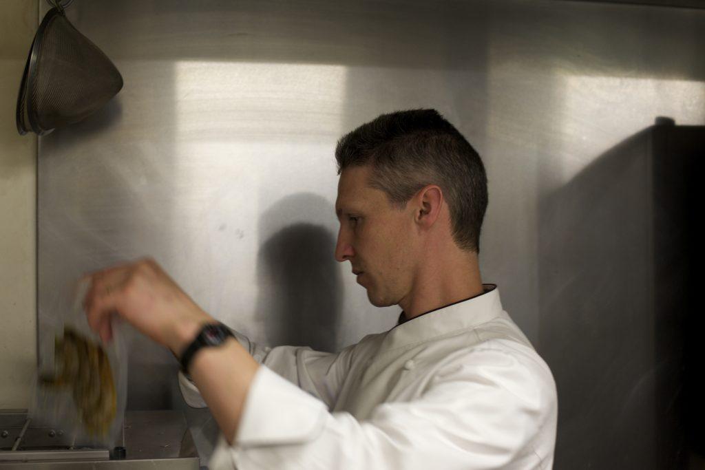 Dale Prentice cooking sous vide