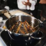 cooking with induction cooktop