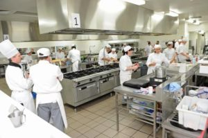 sous vide at Vic Tafe challenge cooking competition for apprentice chefs