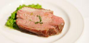 Lamb Loin cooked sous vide